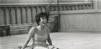 """Rita Moreno on the set of """"West Side Story."""" Credit: MGM Media Licensing."""