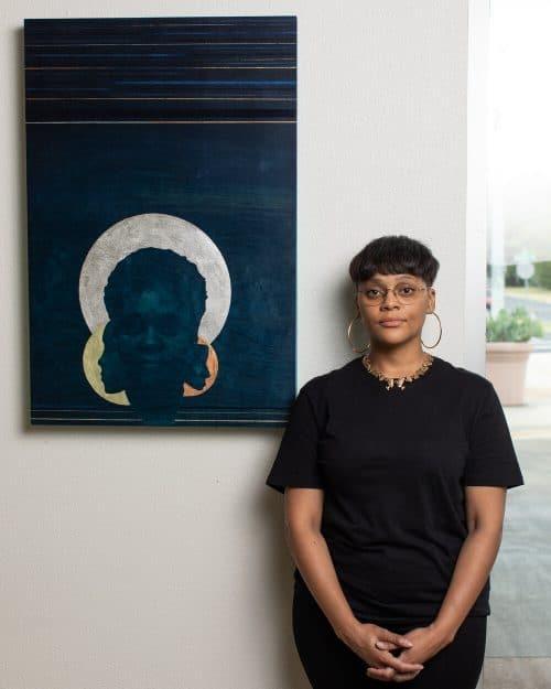 Austin-based artist Aimèe Everett. Photo by Marshall Tidrick