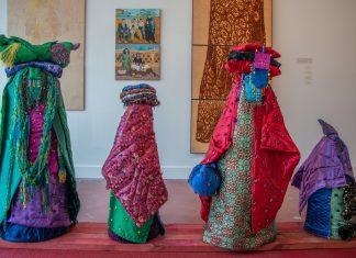 Lahib Jaddo, exhibition view, 2021