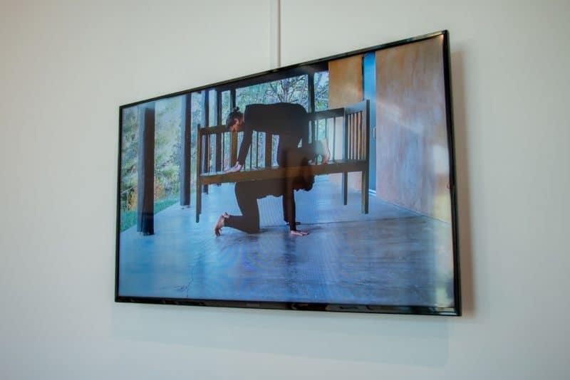 Nida Bangash, The Bridge Called My Back, 2017, five channel video installation