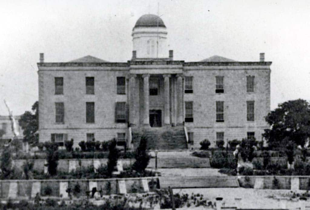 The Texas State Capitol (1853-1881)