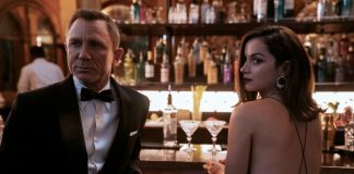 """Daniel Craig and Ana de Armas in """"No Time to Die."""" Credit: MGM"""